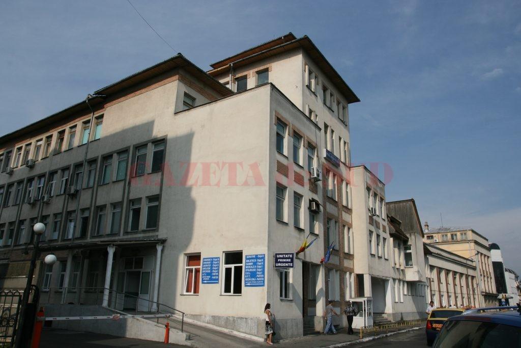 Spitalul Judeţean de Urgenţă din Târgu Jiu (Foto: Eugen Măruță)