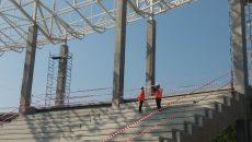 Stadionul din Târgu Jiu ar trebui să fie gata anul viitor
