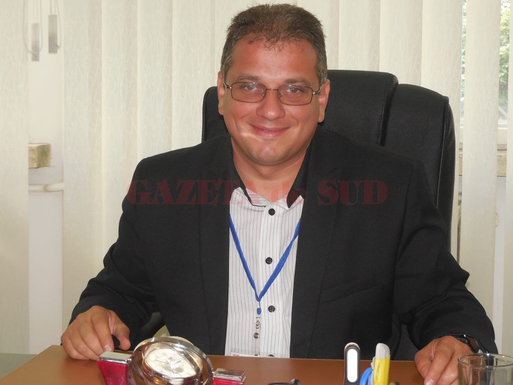 Tiberiu Tătaru, managerul Spitalului Județean de Urgență din Târgu Jiu (Foto: Euen Măruță)