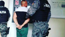 Urmăritul a fost prins de polițiștii doljeni și dus la penitenciarul Craiova
