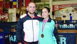 Antrenorul Cătălin Georgescu consideră că Luiza Popescu este o jucătoare cu un mare potenţial