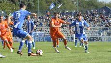 Aurică Beldeanu (medalion) crede că Băluță (dreapta) este cel mai în formă jucător al Craiovei și speră că Ivan (nr. 9) va marca la Mediaș (Foto: Alexandru Vîrtosu)