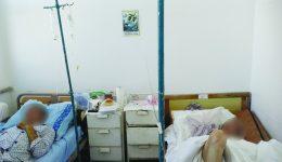 În saloanele celor trei secții erau câte cinci paturi, deși normele prevăd doar două, maximum trei (Foto: arhiva GdS)