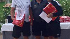 Laurenţiu Bucur (stânga) şi craioveanul Dan Duţescu (dreapta) au câştigat turneul din Spania