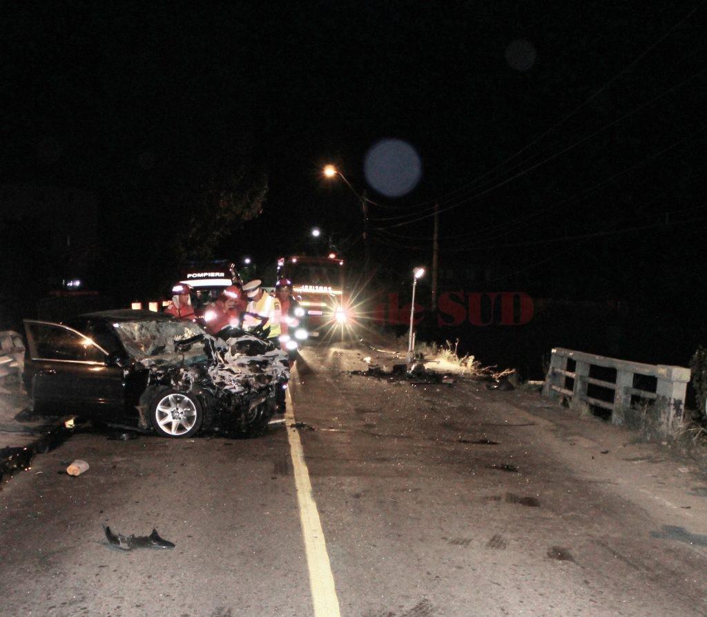 Doi șoferi și-au pierdut viața în urma unui accident produs în comuna doljeană Malu Mare, în luna august