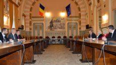 Academicianul Basarab Nicolescu, oaspete la Consiliul Județean Dolj