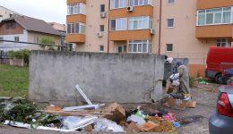 Platformă de gunoi din cartierul Brazda lui Novac (Foto: Lucian Anghel)