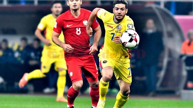 Tricolorii au alergat în zadar cu Polonia (foto: frf.ro)