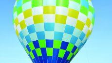 Balonul cu aer cald este singurul din regiunea Olteniei, iar în restul ţării mai sunt doar nouă (Foto: Lucian Anghel)