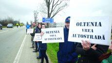 Visul oltenilor de a avea autostradă până la Piteşti este pe cale să devină realitate (Foto: Arhiva GdS)