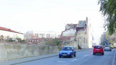 Demolarea morii de pe strada Paşcani nu s-a făcut complet