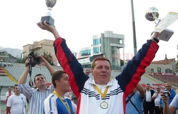 Regretatul Liviu Răducan le-a fost alături pompierilor fotbaliști la toate succesele obținute