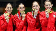 "Spadasinele campioane olimpice au fost invitate la turneul ""Alfredo Bachelli"""