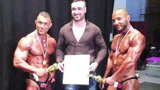 Cristi Firică (stânga) a câştigat competiţia de la Lugoj,  iar Cosmin Bogdan (dreapta) s-a clasat pe locul trei