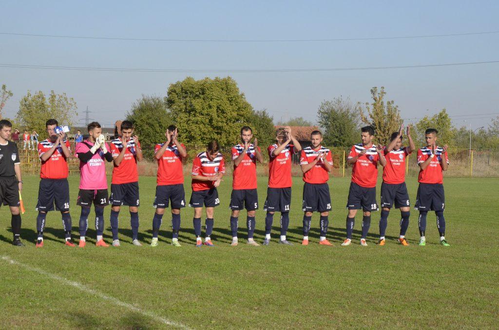 Jucătorii de la CSO Filiaşi au făcut un tur de campionat bun spre foarte bun (Foto: Alexandru Vîrtosu)