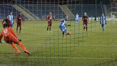 Zlatinski a deschis drumul spre victorie în meciul cu CFR (Foto: Alexandru Vîrtosu)