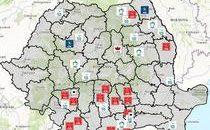 Harta candidaților cu probleme penale (Foto: Hotnews)