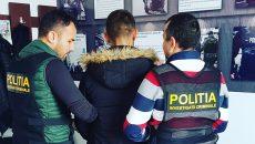 Cetățeanul albanez a fost prins de polițiști în Craiova, urmând să fie extrădat în Italia (Foto: IPJ Dolj)