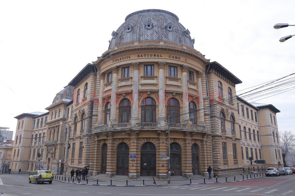 """La Colegiul Național """"Carol I"""" din Craiova nu funcționează centrala de semnalizare, alarmare, alertare în caz de incendiu (Foto: Lucian Anghel)"""