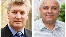 În campania electorală pentru alegerile din iunie, Mircea Guță (stânga) l-a susținut pe Lucian Ciobanu (dreapta), candidatul PSD la Primăria Calafat