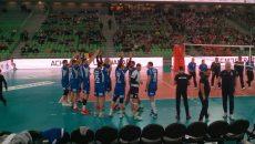 Voleibaliştii craioveni au fost aproape de o victorie la Ljubljana (foto: Facebook SCM Craiova)