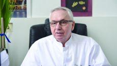 Prof. dr. Eugen Moţa, șeful Clinicii de Nefrologie (FOTO: Claudiu Tudor)