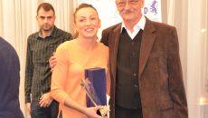 Atleta Adelina Pastor şi antrenorul de spadă Dan Podeanu au primit cele mai importante distincţii în gala organizată de DJST Dolj