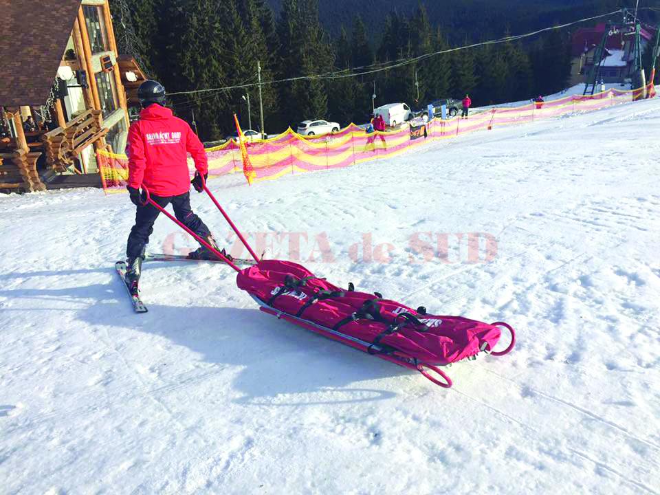 Patrula de schi, prezentă pe tot sezonul de iarnă în Rânca