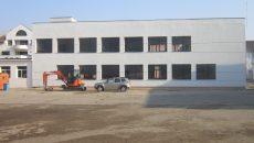 """Școala Gimnazială """"Sfântul Dumitru"""" va da în folosință noua clădire de anul viitor (Foto: Carmen Rusan)"""