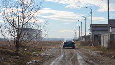 Strada Giurgiu ar fi rămas fără utilități pentru că, în perioada în care acestea s-au introdus, aici nu existau locuinţe  (Foto: Gogdan Grosu)