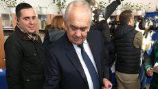 Florin Cârciumaru, în premieră în parlament
