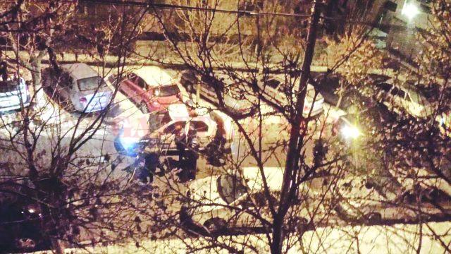 Potrivit martorilor, tânărul de 19 ani a fost ucis în spatele blocului C 32 de pe strada Maramureș (Foto: cititor GdS)