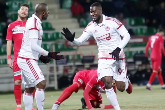 Ideye a deschis scorul pentru Olympiakos