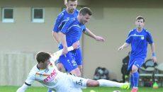 Gorjenii (în albastru) au obținut rezultate bune în amicalele din Antalya (Foto: panduriics.ro)