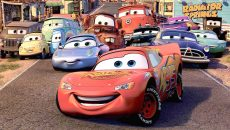 Cars movie wallpaper 2560x1440