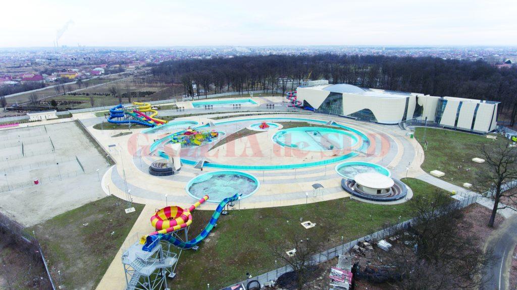 """Lucrările la Water Park au """"înghețat"""" în așteptarea unei noi autorizații de construire (Foto: Marian Vulcănescu)"""