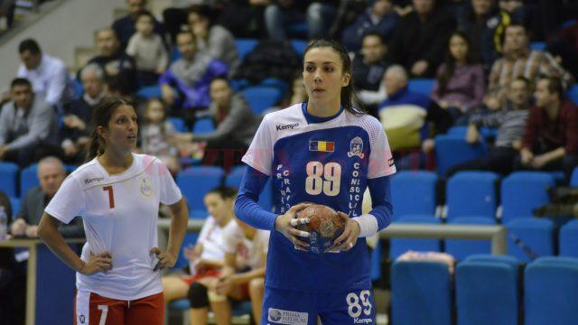 Cristina Zamfir este principala marcatoare a echipei craiovene în acest sezon