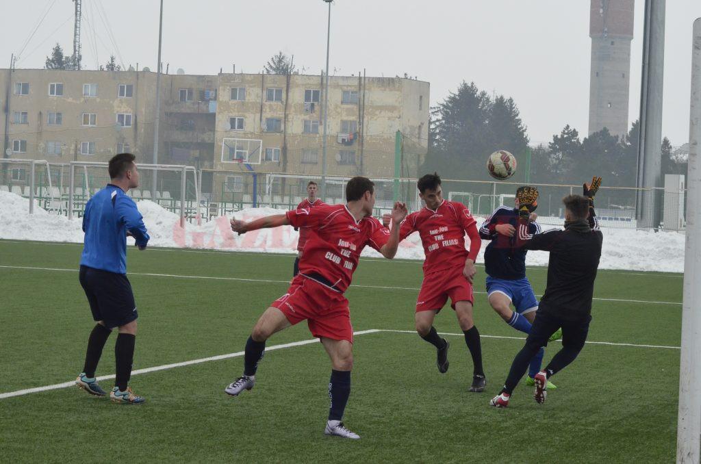 Claudiu Bălan a marcat primul său gol la CSO Filiași (Foto: Alexandru Vîrtosu)