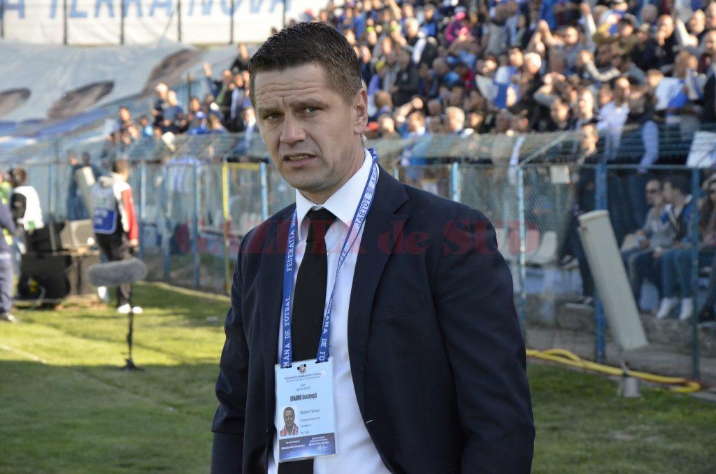 Flavius Stoican îi va lua locul lui Petre Grigoraș la Pandurii pentru partea a doua a campionatului (Foto: Alexandru Vîrtosu)