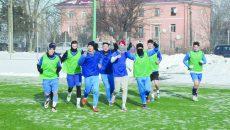 Jucătorii echipei secunde a CS Universitatea Craiova s-au bucurat pentru reluarea antrenamentelor ()