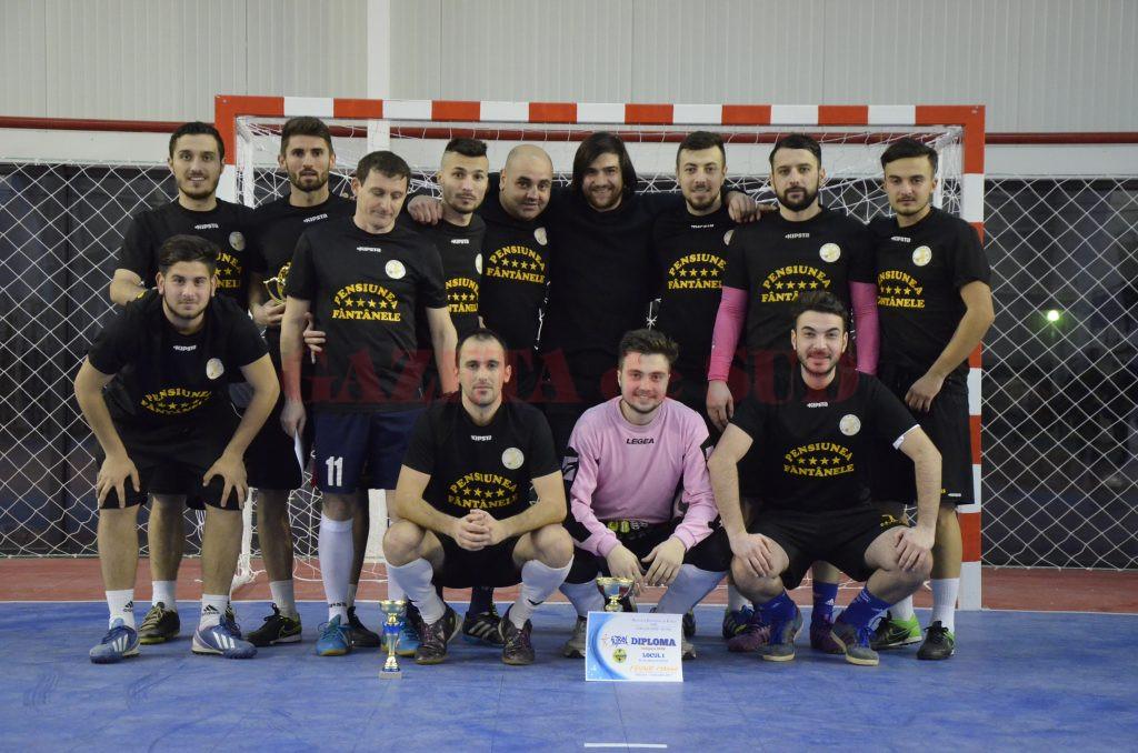 Echipa Friends a practicat cel mai frumos şi eficient fotbal la sală(Foto: Alexandru Virtosu)