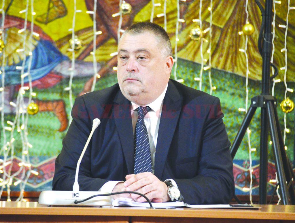 Mihail Genoiu este de ieri primarul interimar al Craiovei (FOTO: Valentin Tudor)