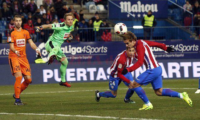 Antoine Griezmann continuă forma bună la Atletico Madrid