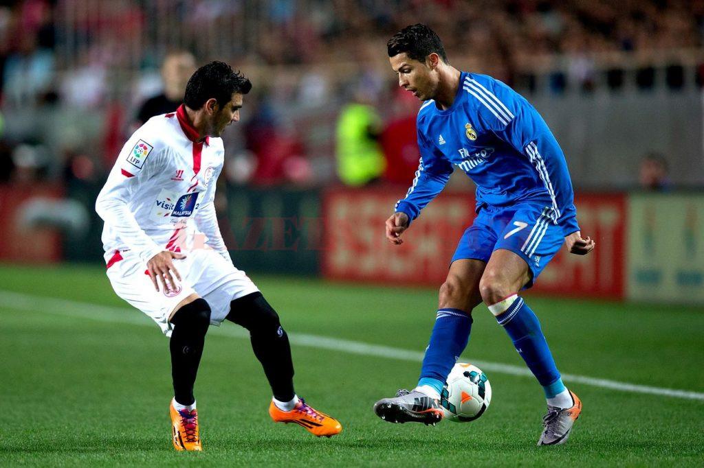 Ronaldo (la minge) a marcat, dar nu a fost de ajuns pentru victorie