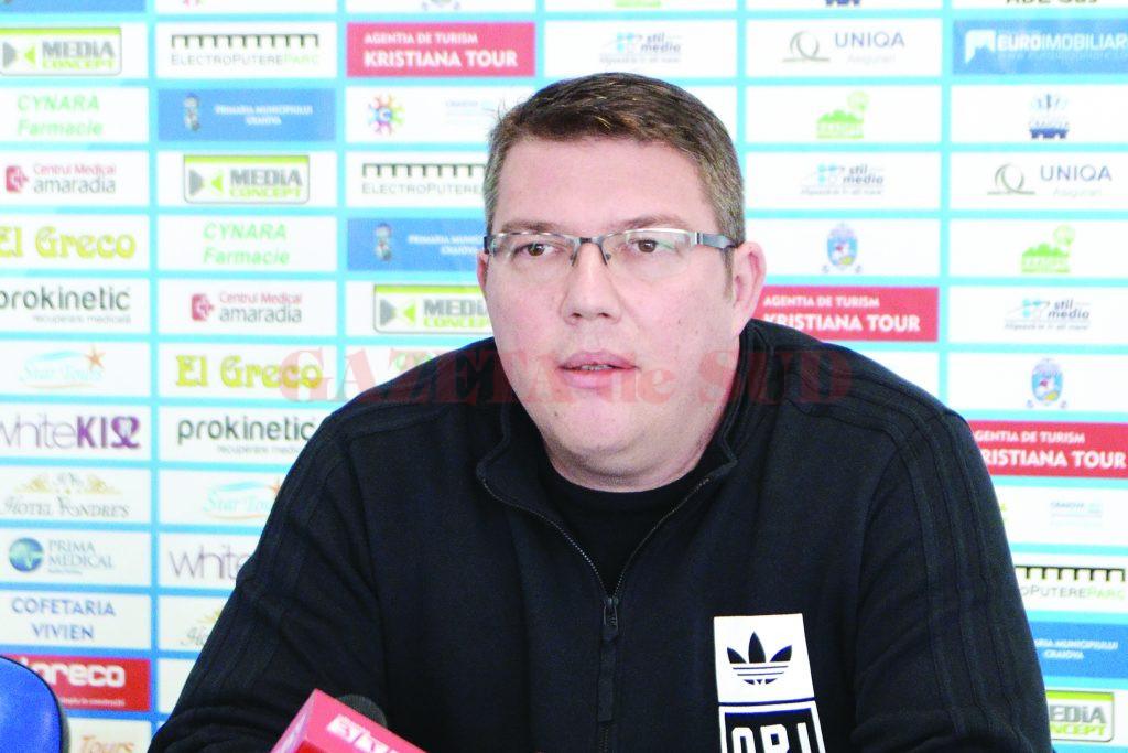 Marius Toma a revenit la clubul SCM și încearcă să salveze un sezon ratat la baschet (FOTO: Claudiu Tudor)