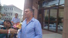 Florin Bălănescu în ipostaza de lider sindical în OCPI Dolj în 2012, atunci când acuza interese oculte în instituţie