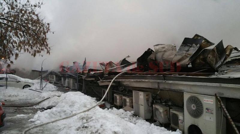 Bmboo după incendiu (Foto: Digi 24)