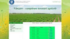 Persoanele care doresc să cumpere teren agricol situat în extravilan în judeţul Dolj pot consulta ofertele afişate pe site-ul Direcţiei Agricole