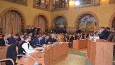 Şedinţa Consiliului Local Craiova de ieri  (Foto: Bogdan Grosu)