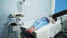 Aparatul primit recent de Clinica de Ginecologie din cadrul Spitalului Județean de Urgență Craiova ajută la evaluarea stării fătului înainte de naștere (Foto: Bogdan Grosu)